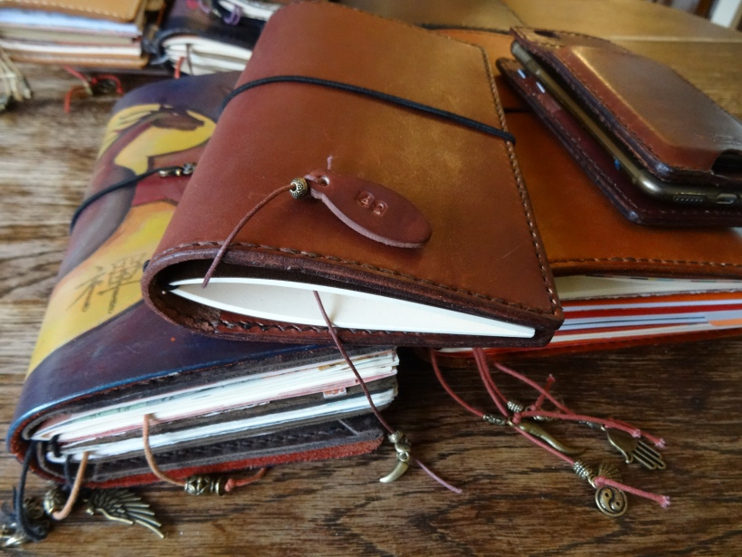 Lady Falcon Travelers Notebooks, Regular size, B6 Slim and A5